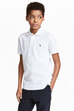 Polo shirt - White - Kids | H&M 1
