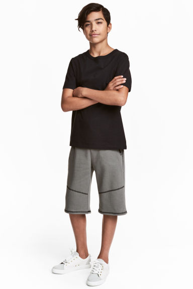 Sweatshirt shorts - Dark grey - Kids | H&M CA 1