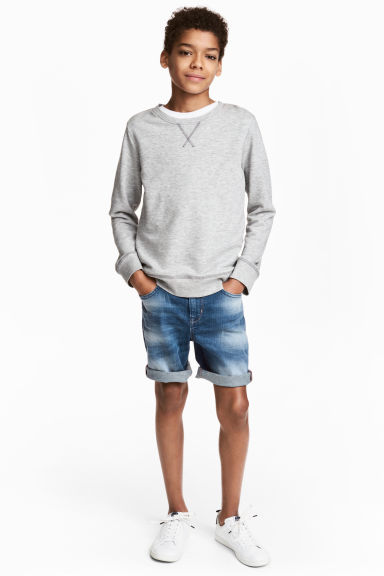 Shorts in denim - Blu denim - BAMBINO | H&M IT 1
