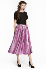 Pleated skirt - Pink - Ladies | H&M GB 1