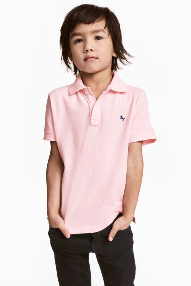 Polo shirt - Light pink - Kids | H&M CN 1