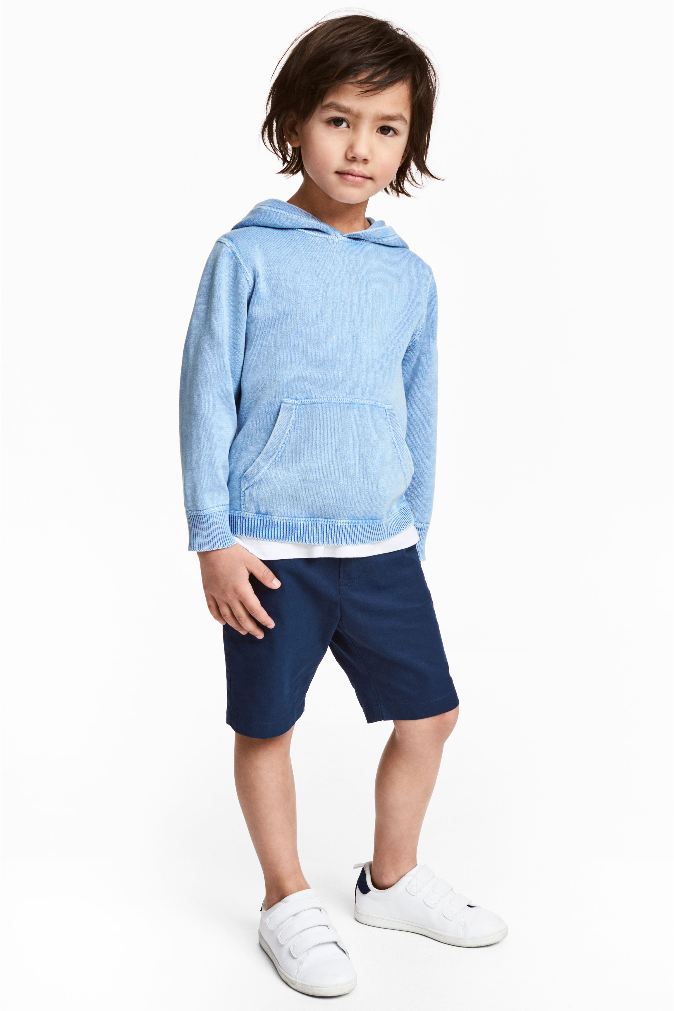 Pantaloni scurți chino - Albastru-închis - COPII | H&M RO 1