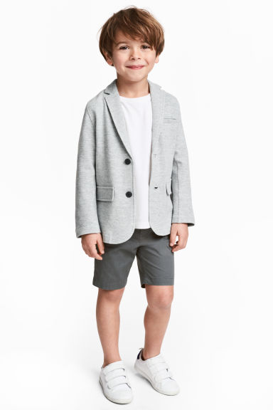 Chino shorts - Dark grey -  | H&M