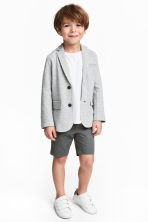 Chino shorts - Dark grey -  | H&M 1