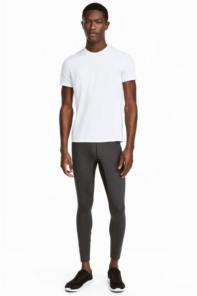 Sports tights - Dark grey - Men | H&M CN