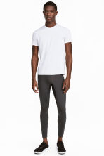 Sports tights - Dark grey - Men | H&M CN 1