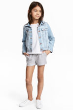Jersey shorts - Grey heart - Kids | H&M 1