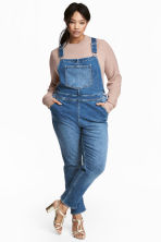 H&M+ Dungarees - Denim blue - Ladies | H&M 1