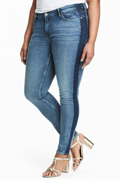H&M+ Skinny Regular Jeans - Denim blue -  | H&M 1