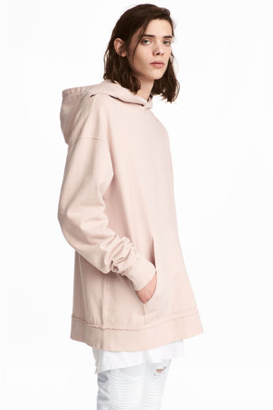 Hooded top - Light pink - Men | H&M CN