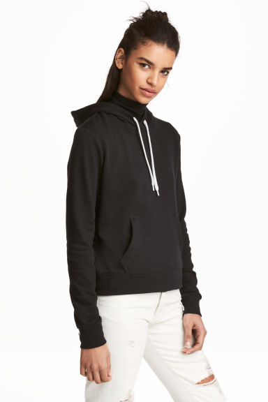 Hooded top - Black - Ladies | H&M CN 1