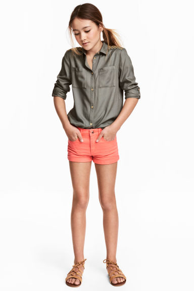 Short van keper - Koraal -  | H&M BE