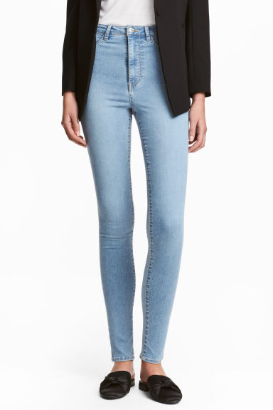Super Skinny High Jeggings Model