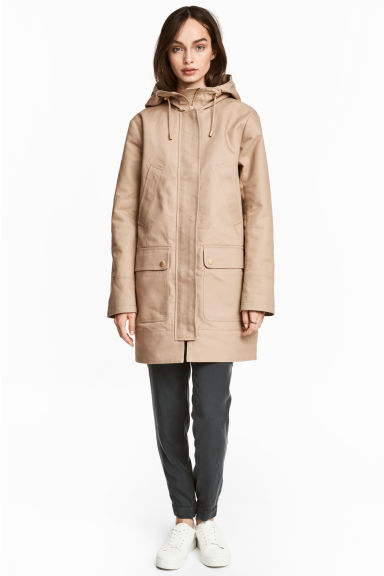 Parka - Beige - Ladies | H&M 1
