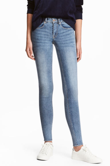 Super Skinny Regular Jeans - Azul denim medio - MUJER | H&M ES 1
