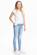 Superstretch Satin Jeans - Bleu denim clair - ENFANT | H&M FR 1