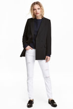 Skinny Regular Jeans - Denim bianco - DONNA | H&M IT 1