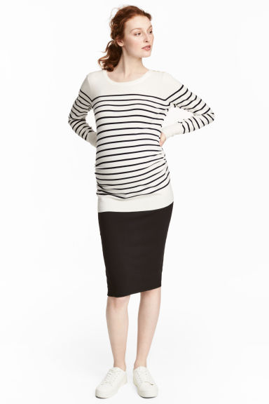 MAMA Gonna a tubino in jersey - Nero - DONNA | H&M IT 1