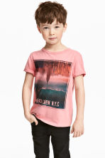 T-shirt con stampa - Rosa - BAMBINO | H&M IT 1