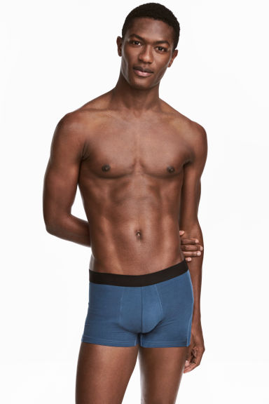 Boxer, 3 pz - Blu scuro/quadri - UOMO | H&M IT
