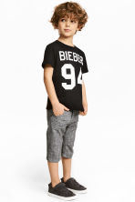 Clamdiggers - Dark grey - Kids | H&M 1