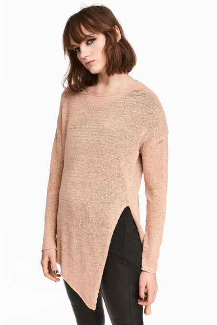 Loose-knit jumper