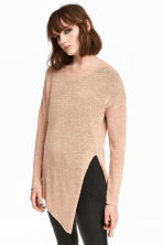 Loose-knit jumper - Beige - Ladies | H&M 1