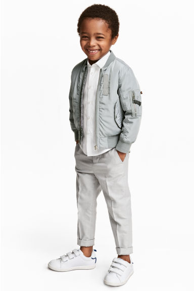Suit trousers - Light grey - Kids | H&M CN 1