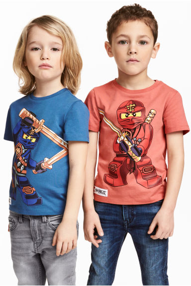 2-pack T-shirts - Blue/Lego -  | H&M 1