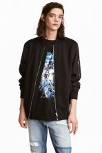 Bomber jacket - Black - Men | H&M 1