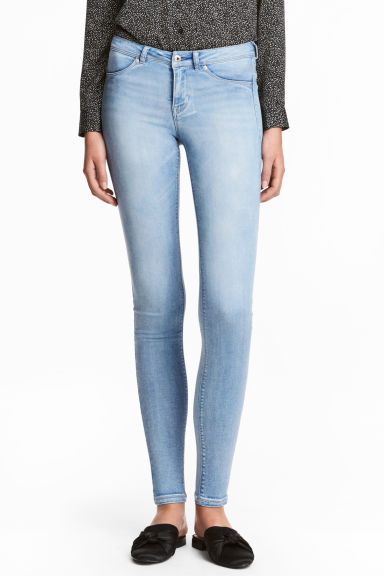 Feather Soft Low Jeggings - Bleu denim clair - FEMME | H&M FR