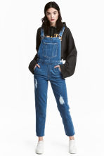 Denim dungarees - Denim blue - Ladies | H&M 1