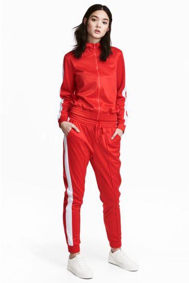 Joggers in acetato - Rosso - DONNA | H&M IT 1