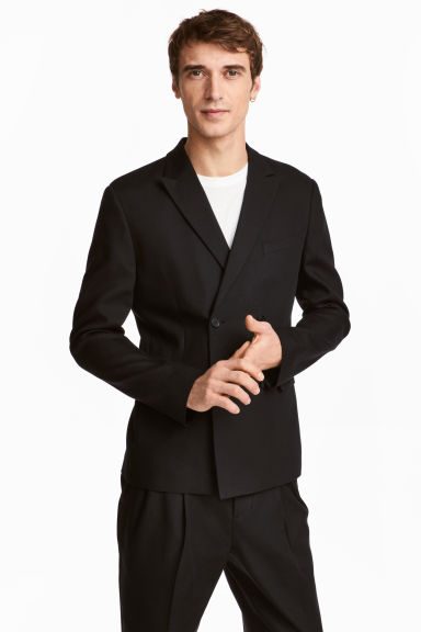 Dvouřadové sako Slim fit Model