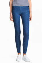 Pantaloni elasticizzati - Blu denim - DONNA | H&M IT 1