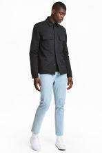 Slim Regular Cropped Jeans - Azul denim claro - HOMBRE | H&M ES 1