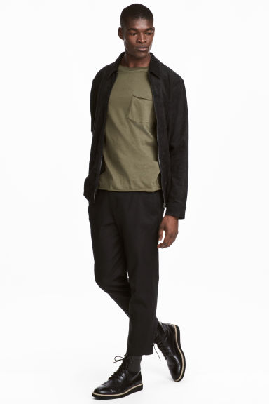 Cotton twill trousers Model