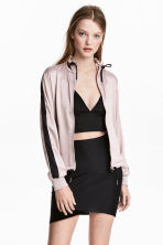 Satin jacket - Old rose - Ladies | H&M 1