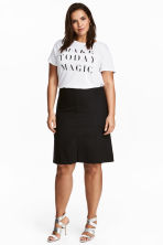 H&M+ Short skirt - Black - Ladies | H&M 1