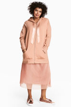 H&M+ Hooded jacket - Powder - Ladies | H&M 1