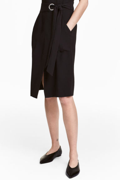 Ballerine in pelle - Nero - DONNA | H&M IT 1