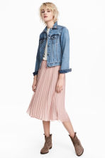 Pleated skirt - Old rose - Ladies | H&M CN 2