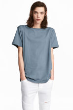 T-shirt a girocollo - Blu tortora - UOMO | H&M IT 1