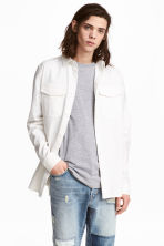 Utility shirt - White - Men | H&M IE 1