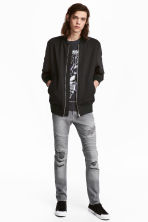 Biker jeans - Grey denim - Men | H&M 1