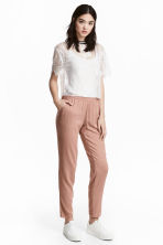 Pull-on trousers - Beige - Ladies | H&M CN 1
