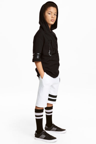 Sweatshirt shorts - White - Kids | H&M 1