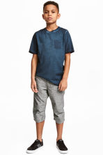 Knee-length shorts - Dark grey - Kids | H&M 1