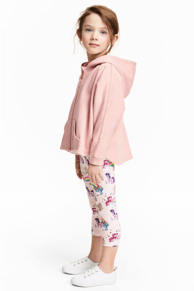 3/4-length leggings - Light pink/My Little Pony - Kids | H&M 1