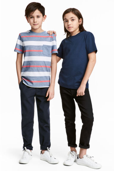 2-pack T-shirts - Dark blue -  | H&M IE 1